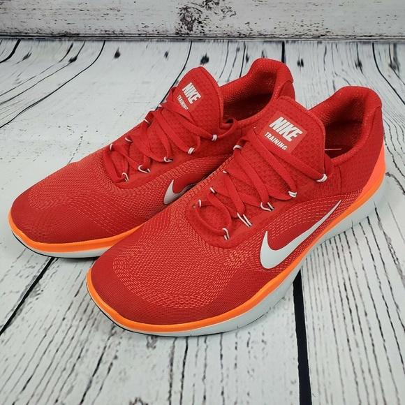 Nike Other - Nike Free Trainer V7 Cross Training Crimson Red